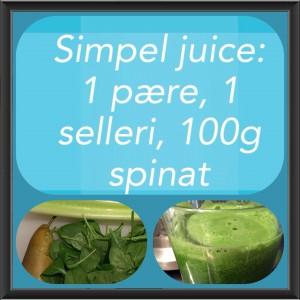 Nem opskrift som samtidig er sund. Juice guide